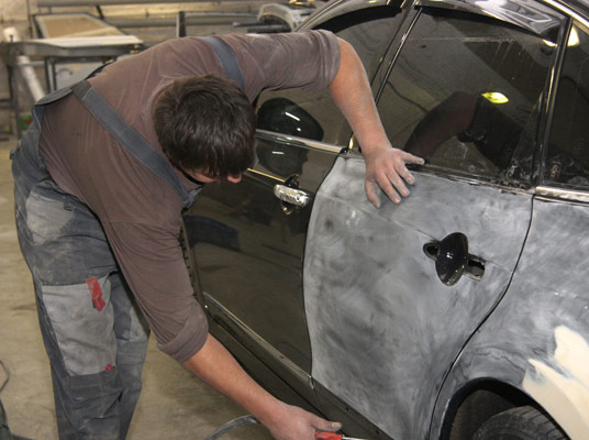 Отремонтировать кузов своими руками